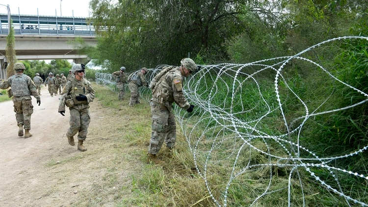 Extiende EU hasta septiembre despliegue militar en la frontera