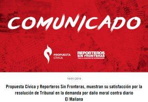 Celebran ONGs sentencia a favor de libre expresión