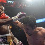Pacquiao sufre durante su último combate victorioso una lesión de ojo que podría retirarlo