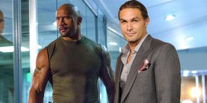 Dwayne Johnson quiere a Jason Momoa en una película de Fast and Furious