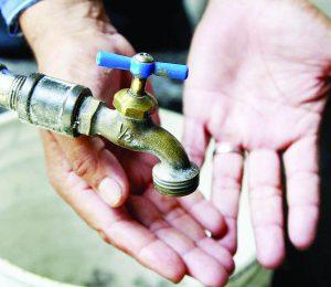 Suben de nuevo tarifa del agua