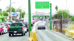 Aumenta peaje   en los puentes   internacionales