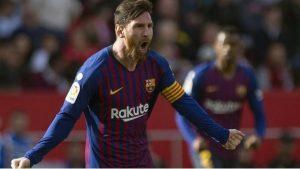 VIDEO: Descomunal volea de Messi encamina victoria del Barcelona