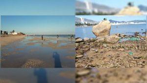 Alarma en Yucatán y Acapulco porque el mar se alejó de la playa