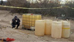 Aseguran mil litros de combustible robado en Chihuahua