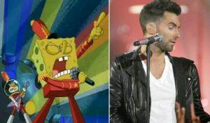 Maroon 5 podría recrear escena de Bob Esponja en show del Super Bowl LIII