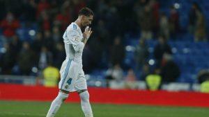 Sergio Ramos podría ser suspendido dos partidos en champions