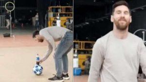 La más reciente genialidad de Messi