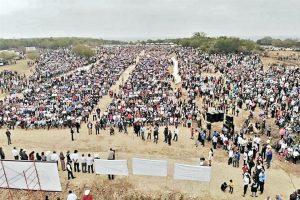 Encabeza Mireles mitin en Tamaulipas