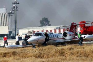Se despista aeronave en Toluca