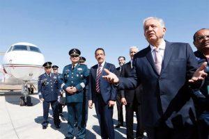 Anuncia Presidente nuevas obras de plan aeroportuario