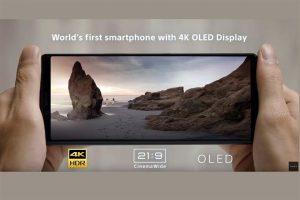 Anuncia Sony smartphone 4K