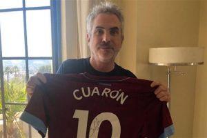 Agradece Cuarón apoyo del West Ham