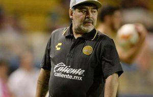 Por primera vez viene Maradona a Tamaulipas