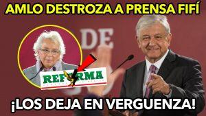 AMLO Ridiculiza a prensa fifi por patrimonio no declarado de Olga Sánchez ¡Los deja en verguenza!