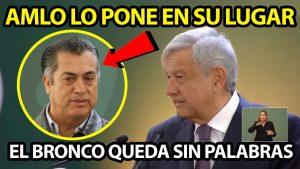 AMLO Calla a El Bronco en su estado le dió ADVERTENCIA ¡Le dijo sus verdades!