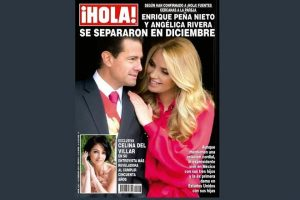 Afirman que Peña se separó en diciembre
