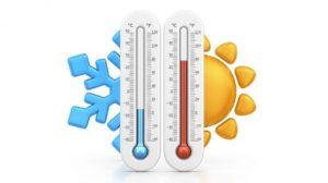 Dos días de calor y luego  dos frentes fríos… juntos