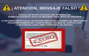Alertan sobre 'fake news' de secuestros en Nuevo León