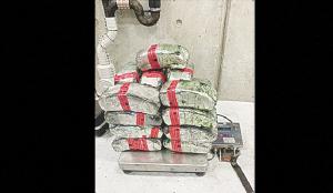 Decomisan droga valuada por 2 mdd en Puente 1