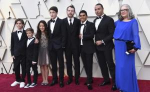 Latin Lover, Fermín y el elenco de ROMA hacen su aparición en los Oscar