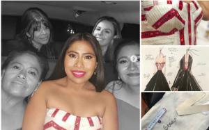 El vestido mexicano que usó Yalitza la noche de los Oscar