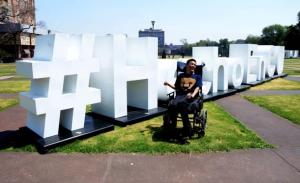 Matías, primer profesor a distancia con discapacidad que contrata la UNAM
