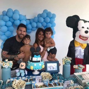 Falsa foto de Mickey Mouse en fiesta de del hijo de Messi causa burla