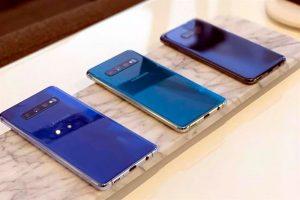 Presenta Samsung tres Galaxy S10
