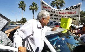 Llega AMLO sin custodia a Sinaloa tierra de 'El Chapo' Guzman