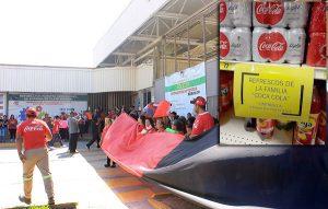 Racionan productos Coca Cola en los centros comerciales