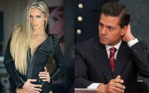 Captan a Peña Nieto con una modelo en Madrid