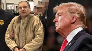 Trump considera 'interesante' la idea de pagar muro con dinero de 'El Chapo'
