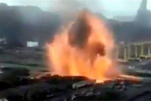Se registra explosión en acerera en Michoacán