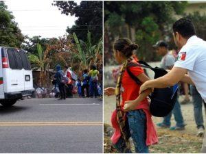 Ingresa nueva caravana a México y es detenida por el INM