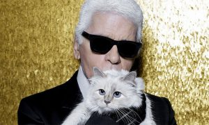 Karl Lagerfeld deja fortuna a Choupette, su gata