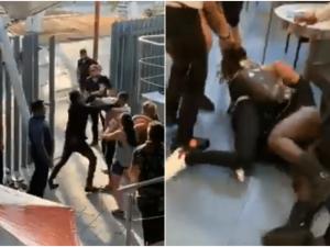 Aficionados de América y Pumas arman pelea en restaurante de Tlalnepantla