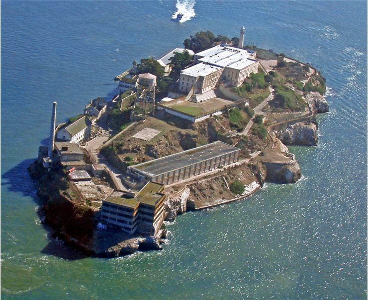 Imagen aérea de las Islas Marías