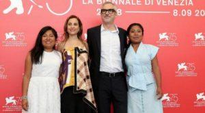 Preparan festejo de 'Roma' en el Ángel de la independencia en CDMX