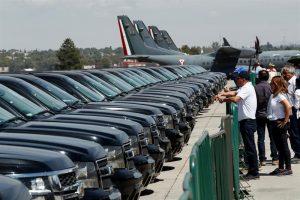 Se subastaron 218 vehículos oficiales en Santa Lucía este fin de semana
