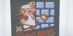 Venden cartucho de Super Mario Bros. en 2 mdp