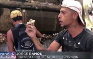Gente comiendo de la basura, lo que enfureció a Maduro: Jorge Ramos