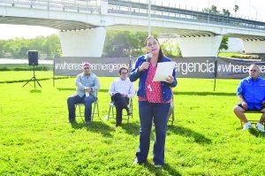 ¡No al muro!, alzan  voz ambientalistas