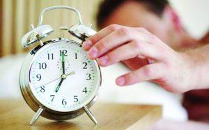Desfase de horario durará 28 días