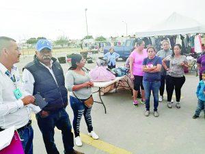 Reubican pulga de Los Fresnos, se inconforman comerciantes