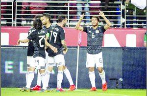 Con ataque certero, México vence a Paraguay