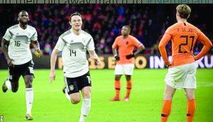 Sacan germanos victoria en Holanda
