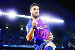 Sufre Suárez lesión en tobillo
