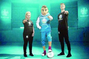 Presentan a mascotas para Eurocopa 2020