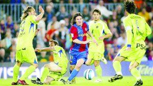 Gol que marcó Messi a Getafe es elegido el mejor de todo los tiempos